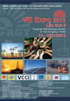 VE Expo 2013 The Fifth International Exhibition & Conference on Vietnam Energy Development 13 - 15 Nov
