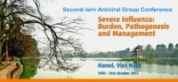 Melia Second AVG Severe Influenza Burden, Pathogenesis and Management will be held in Hanoi, Viet Nam, 29-31 October 2012